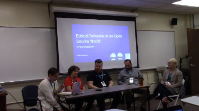 Tricia Isham, Seth Gitner, Tara Johnson, Miriam Goldman, Mikey Veenstra: Ethical Behavior in an Open Source World