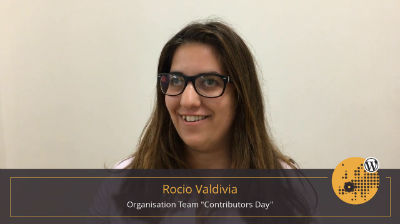 Rocio Valdivia: Contributor Day Summary at WordCamp Europe 2017