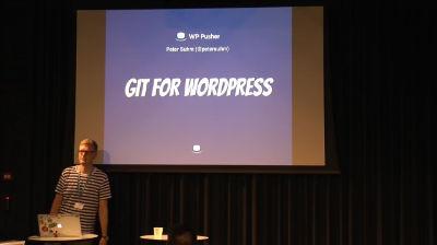 Peter Suhm: Git for WordPress udviklere