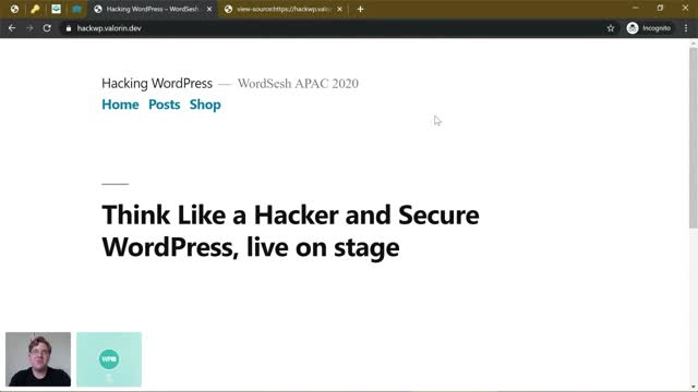 Stephen Rees-Carter: Think Like a Hacker and Secure WordPress