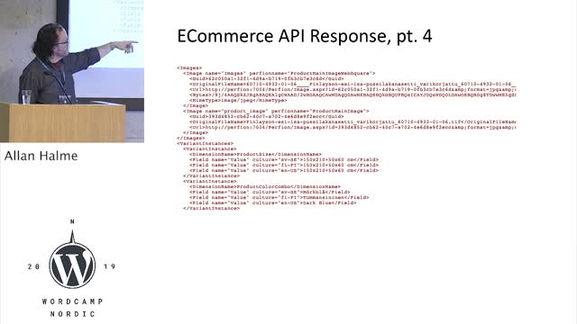 Allan Halme: Integrating multi-lingual products from a PIM to WooCommerce