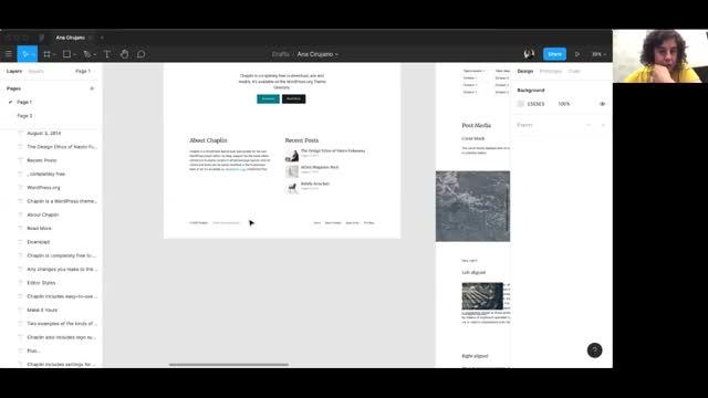 Ana Cirujano: Prototipar en Figma para desarrollar en WordPress