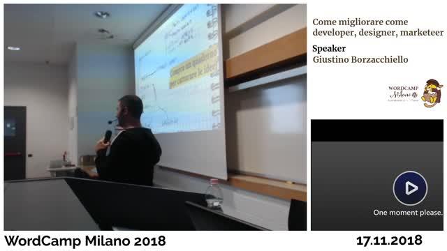 Giustino Borzacchiello: Come migliorare come developer, designer, marketer