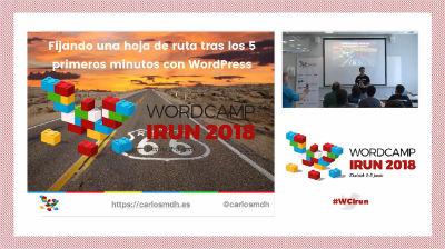 Carlos M. Díaz: Fijando una hoja de ruta tras los cinco primeros minutos con WordPress