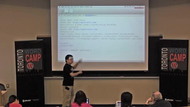 Sam Xu: From Wireframe to WordPress Theme in 10 Minutes