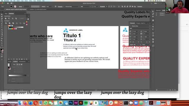 ¿Cómo elegir la tipografía para un proyecto web?