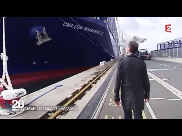 La cma cgm s offre le plus gros porte conteneur du monde - Le plus gros porte container du monde ...
