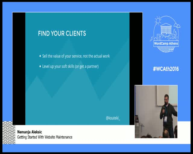 Nemanja Aleksic: Getting Started With Website Maintenance