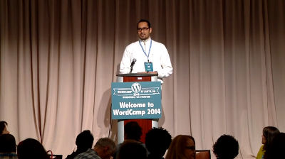 Syed Balkhi: WordCamp Atlanta 2014 Keynote Address