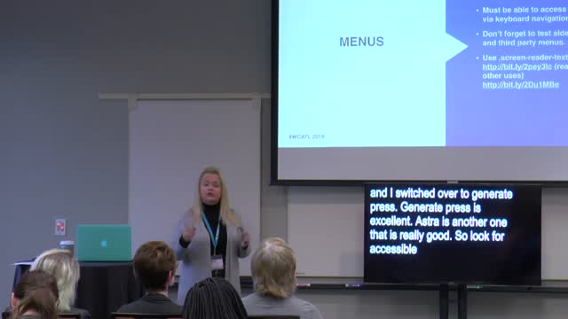 Melanie G Adcock: Building Accessible Websites - Your New Superpower