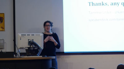 Tammie Lister: Know Your Users