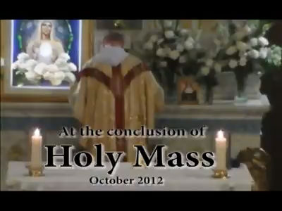 In October 2012 a Miracle of the Holy Eucharist occurred at Our Lady Queen of Peace House of Prayer