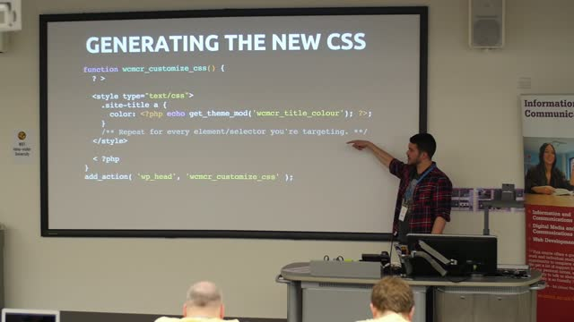 Dave Green: Building Themes Using The WP Customizer