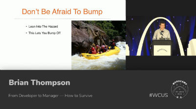 Brian Thompson: From Developer to Manager — How to Survive