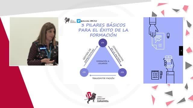 Vanessa Borobia: Tips para triunfar en tu formación a usuarios