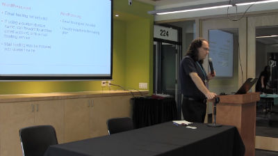 Tim Covell: WordPress.com vs WordPress.org