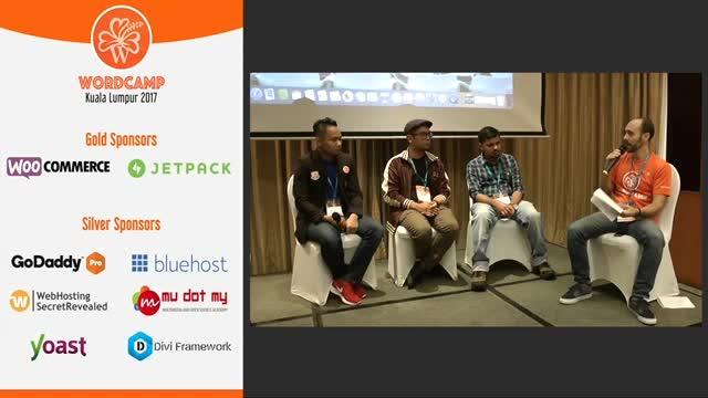 Edwin Masripan, Syafrizal Sharif, Purnendu Dash: Panel Discussion Part 2 - Running a WP Dev Agency