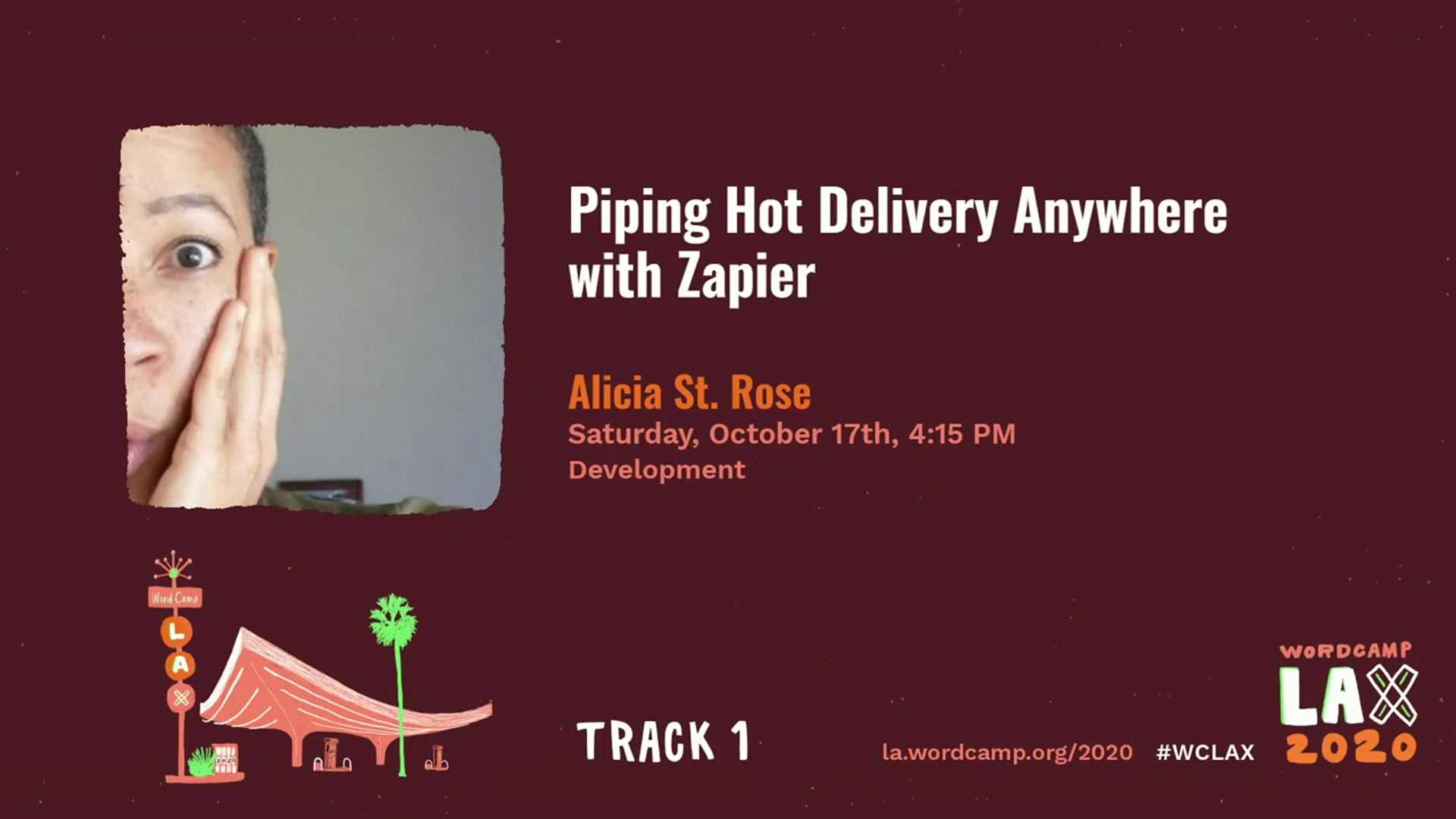 Alicia St. Rose: Piping Hot Delivery Anywhere with Zapier