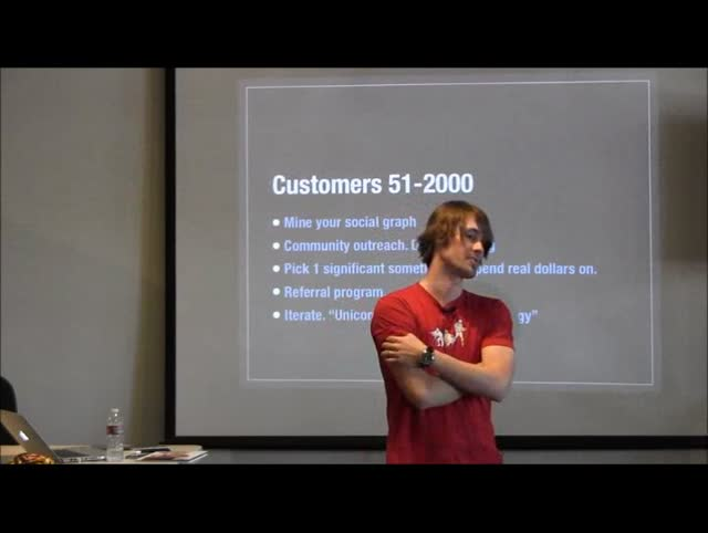 Joshua Strebel: Bootstrapping Your Venture