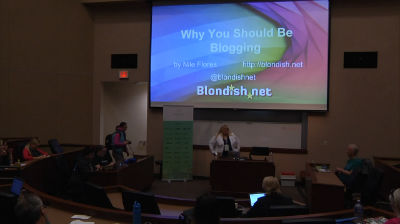Nile Flores: Why You Should Be Blogging
