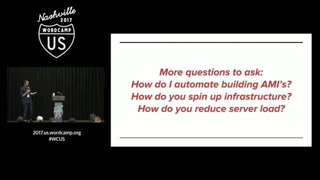 Nathaniel Schweinberg: Scalable, Highly-Available WordPress on AWS