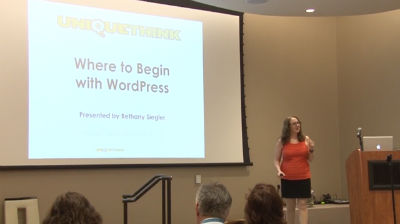 Bethany Siegler: Where to Begin with WordPress