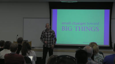 Jeremy Felt: Small Changes Toward Big Things