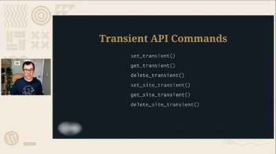 David Artiss: Everything you ever wanted to know about WordPress transients
