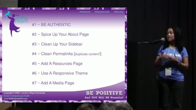 Elayna Fernandez: Take Your Blog From Blah To Bold - Create Credibility, Visibility & Profitability