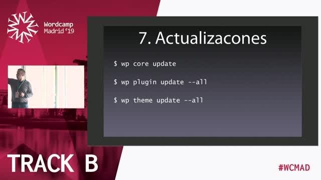 Jesús Amieiro: WP-CLI – Aprende a gestionar tu WordPress desde la línea de comandos en 10 minutos