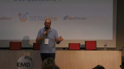 Nicolas MERCATILI : Le SEO, c'est tout simplement comprendre comment fonctionnent les moteurs de recherches, et leur pro