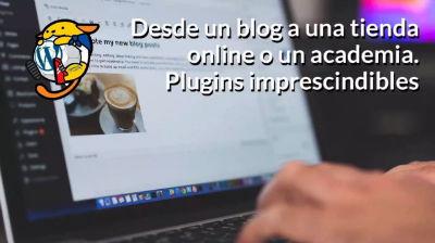 Adrián Cobo, Raúl Martínez: Desde un blog a una tienda o una academia. Plugins imprescindibles