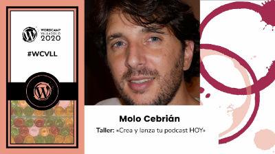 Molo Cebrián: Crea y lanza tu podcast HOY
