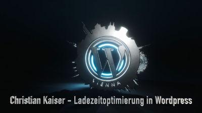 Christian Kaiser: Ladegeschwindigkeit verbessern zur Freude von Leser und Google-Ranking