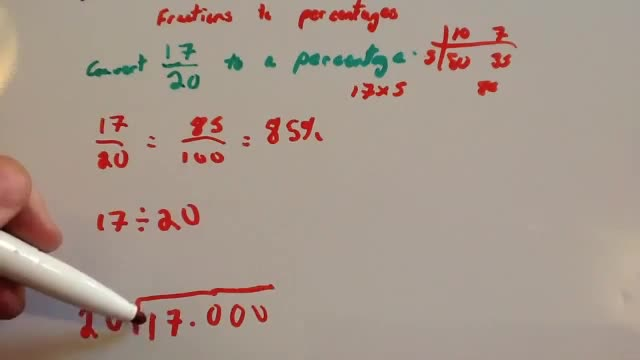 teaching how to work out percentages with currentcy