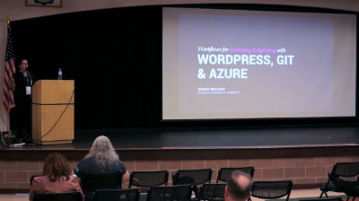 Stacey Mulcahy: Git, WordPress, Azure