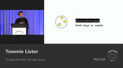 Tammie Lister: Thinking remotely through games