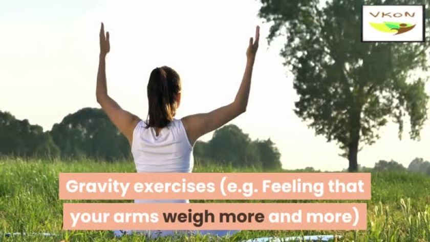 6 therapeutic exercises combating stress and anxiety about relaxation - video