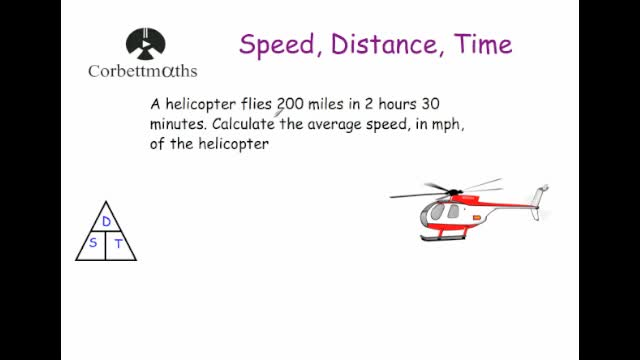 Speed Distance Time – Speed Worksheet