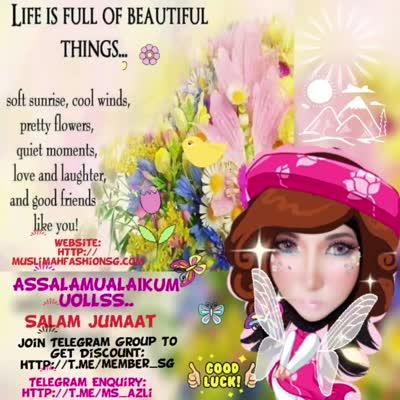 Good Morning Uollss Muslimah Fashion Spa Sg