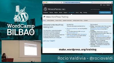 Rocío Valdivia: Cómo involucrarte (más) con WordPress