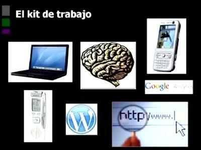 Mesa Redonda Periodismo y Blogs