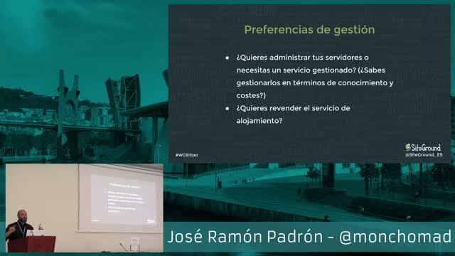 José Ramón Padrón: Cómo sacar el máximo provecho de tu proveedor de hosting