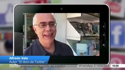 #ElLibrodeTwitter en Telemadrid en el programa Madrid Contigo