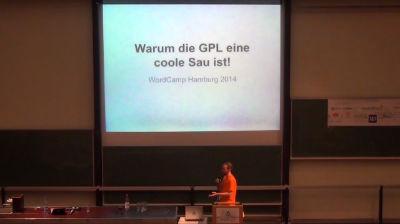 Torsten Landsiedel: Lightning Talk - Warum die GPL eine coole Sau ist!