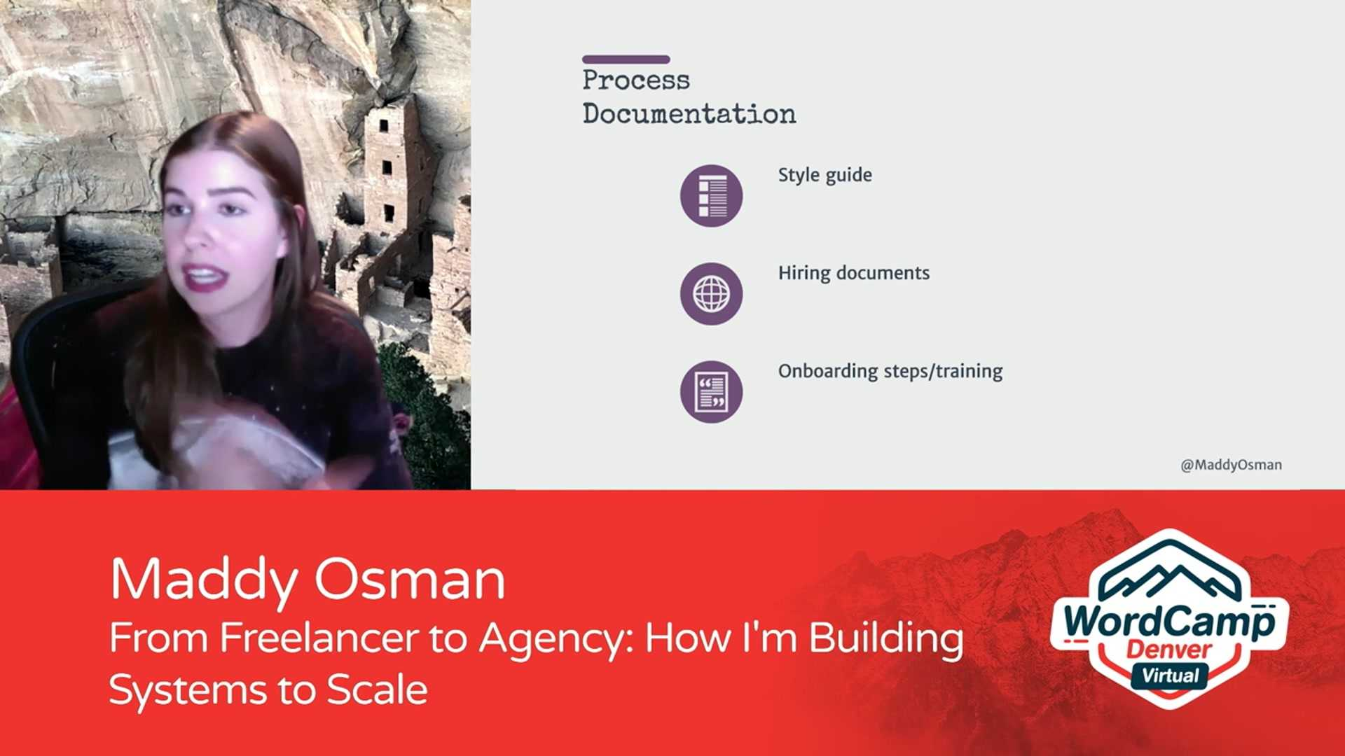Maddy Osman: From Freelancer to Agency - How I'm Building Systems to Scale