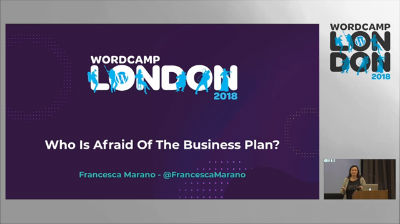 Francesca Marano:Who is afraid of the Business Plan?